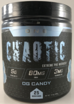 ONE Chaotic Extreme Pre-Workout, 25 Servings - 4 Flavors - $47.99