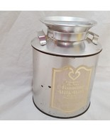 Vintage Frances Harriet Foaming Milk Bath Peach Scented Small Milk Can 8 oz - $23.89