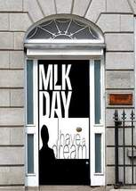 MLK Day - I Have a Dream Fabric Door Cover - $49.99+
