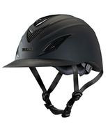 Troxel Horse Riding Helmet English Avalon Steel Vent Covers Black U--258 - $114.95