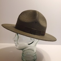 Campaign Hat The Lawman Genuine Milan Police Trooper Military sz 7 1/4 - 58  - $43.00