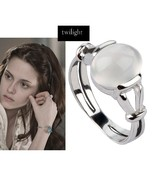 Twilight New Moon Bella Natural Moonstone 925 Silver Ring Isabella Swan ... - $40.05