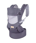 Ergonomic Baby Carrier with Hip Seat Soft & Breathable Baby Carriers,All... - $39.73