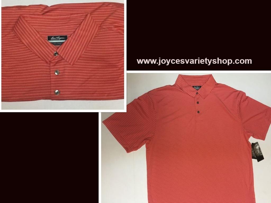 Ben hogan orange shirt web collage