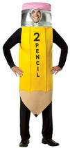 Rasta Imposta #2 Pencil Yellow Tunic Funny Adult Mens Halloween Costume ... - $41.07