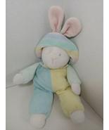 Eden Vintage Plush terrycloth pastel bunny rabbit striped hat  - $197.99