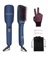 Hair Straightener Brush Lonic-2-in-1 Straightening Brush Iron W/ Auto Sh... - $48.87