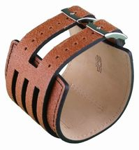 EOS Caseology Brown Leather Metro Wrist Watch image 3