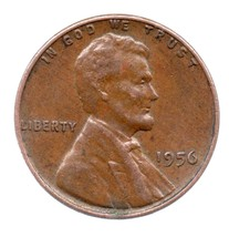 1956 Lincoln Cent - Granny Estate Find - Fast Free Shipping - $4.99