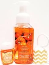 Bath and Body Works Sweet Cinnamon Pumpkin Hand Soap, PocketBac, Glitter... - $19.29