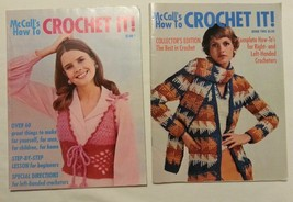 McCall's How To Crochet It! Book 1 & 2 w/ Instructions for Beginners & Left-Hand - $13.47