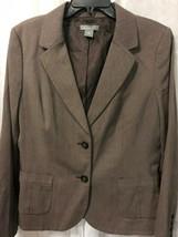 Ann Taylor Women's Brown Blazer Size 14 - $27.72