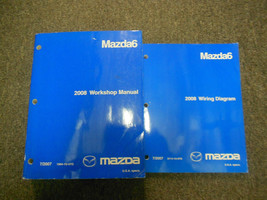 2008 Mazda 6 Mazda6 Service Repair Shop Manual 2 Volume Set Factory Oem Book 08 - $277.15