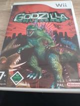 Nintendo Wii~PAL REGION Godzilla Unleashed image 1