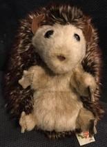 "Folkmanis Baby Hedgehog Hand Puppet Plush 7"" Turns Inside Out Hedgehog Ball - $16.82"