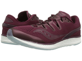 Saucony Freedom ISO Men's Running Shoes Burgundy, Size 3.5 M - $39.59