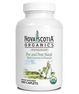 Organic Prenatal and Post Natal Multivitamins & Minerals 180 Caplets; Or... - $67.32