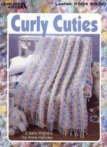 Curly Cuties Crochet PATTERN/INSTRUCTIONS 6 Projects NEW - $6.27