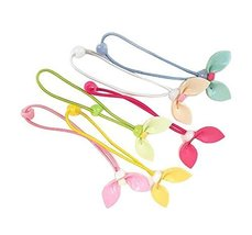 New Fashion Girls Hair Tie Bands Ropes Elastic Bands 12 pieces