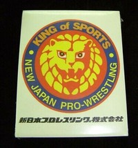 New Japan Wrestling Notepad 1990s New Sealed - $12.99