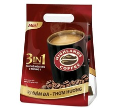 Highland coffee 3-in-1 New 680 Gram ( 40 bags x 17 gram ) - $39.59