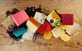 Lush Organic Soap Handcrafted Gift Natural Handmade Vegan Discontinued 2... - $9.88
