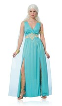 Mythical Goddess Game Of Thrones Daenerys Targaryen Halloween Costume 48507 - $41.74