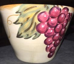 Tabletops Unlimited Gallery NAPA Hand Painted Ceramic SALAD FRUIT PASTA BOWL image 5
