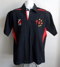 NEW MENS LUCY RUGBY SPORT 2008 SHIRT XSMALL HONG KONG BLACK & RED - $27.67