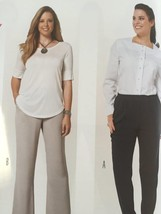 Burda Sewing Pattern 6859 Misses Plus Size Pants Size 18-34 New - $12.67