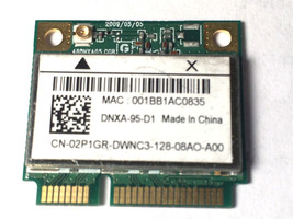 Dell Inspiron Wireless N Card 1012 15 M5030 N5030 Half Height Mini PCI E... - $11.05