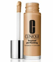 Clinique Beyond Perfecting Foundation + Concealer Makeup 11 Honey CN58 MF - $24.78