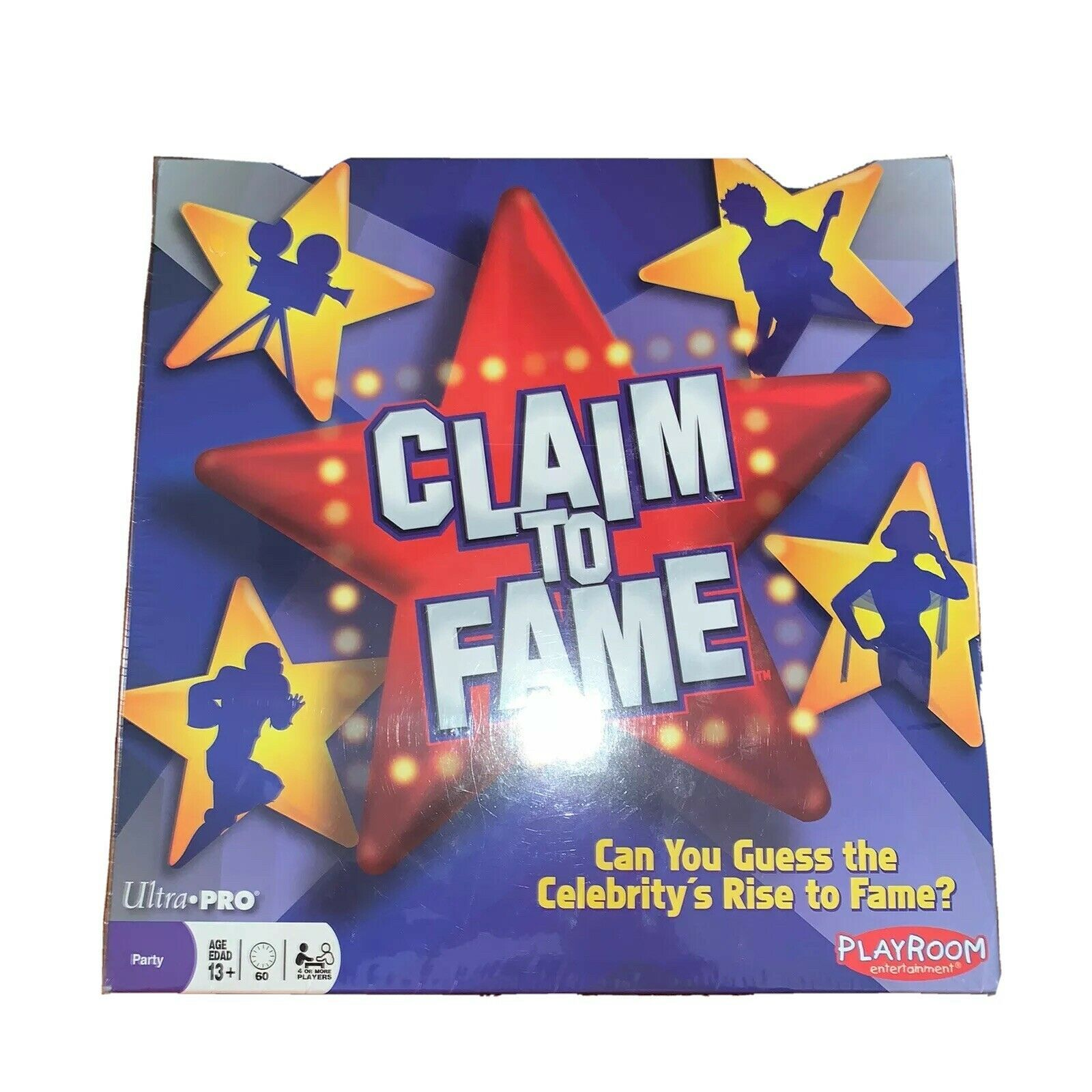 Primary image for Claim To Fame Board Game Night Playroom Entertainment Ages 13+ Party New Sealed