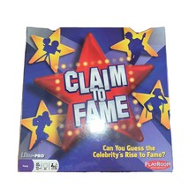 Claim To Fame Board Game Night Playroom Entertainment Ages 13+ Party New... - $12.86
