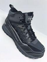 Men's Fila Hail Storm 3 Mid Grey | Black Fashion Boots  - $69.00