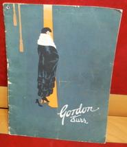 Gordon Furs catalog 1923-24 illust coats Gordon & Ferguson Inc St Paul M... - $15.00