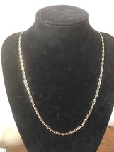 "Mens 14k Solid Yellow Gold Unique Design Chain *34"" Long* 14.82 Grams 4.3mm - $725.00"