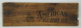 American Rubber Crate Board Advertising Sign Standard Railroad Container - $79.19