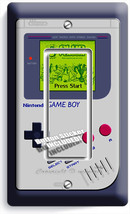 Video Game Boy Console Classic Nintendo Single Gfi Light Switch Plate Room Decor - $8.99