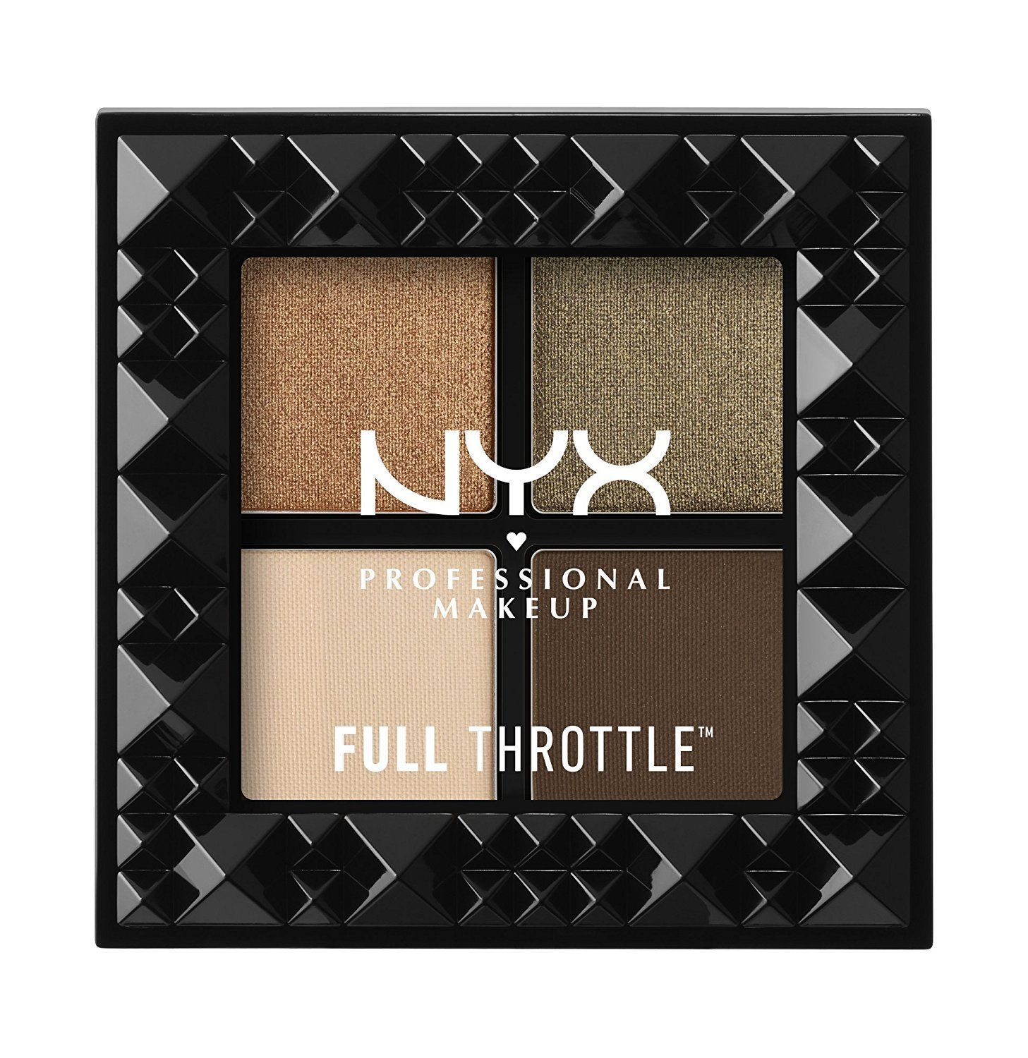 NYX Full Throttle Shadow Palette - 04 Easy On The Eyes