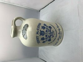 Vintage HENRY McKENNA Half Gallon Kentucky Whiskey Jug Straight Bourbon ... - $23.33
