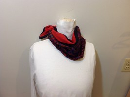 Beautiful Square Multicolor Paisley Patterned Scarf