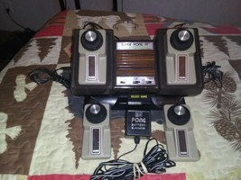 Vintage Atari Sears Super Pong IV Tele Games Unit tested to work - $118.79