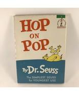 Dr Seuss Hop On Pop 1963 Hardcover W/ DJ 1st Edition - $148.49