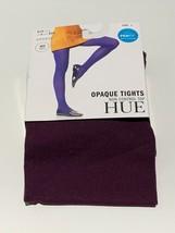 HUE Opaque Non-Control Top Tights Deep Burgundy - $4.49