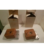 Vintage Wood Look Mechanical Door Alarm - Battery Powered - LOT OF 2 - $29.99