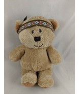 "Ty Pluffies Brown Thanksgiving Bear Lil Feather Plush 9"" Stuffed Animal - $27.17"
