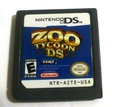 Zoo Tycoon DS  Nintendo DS, 2005 Game Only No Case - $5.91