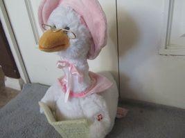 Mother Goose Nursery Rhyme Talking Animated Plush Doll 7 Rhymes Cuddle Barn image 3