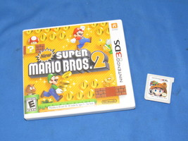 2 Nintendo 3DS Games New Super Mario Bros 2 + Super Mario 3D Land - $29.99